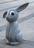 Ögonkontakt - med en av Marianne Lindberg de Geers kaniner (gunillasteen) Tags: fs180603 ogonkontakt fotosondag