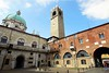 Brescia historical town center (Rosmarie Wirz) Tags: brescia lombardy italy city old tower cupola