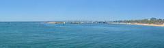 Panorma of the Harbor (joe Lach (On Vacation) !!) Tags: california santabarbara harbor marina sailboat pacificocean breakwater pointcastillo sandybeach joelach