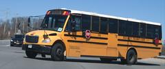 Mid-City Transit #253 (ThoseGuys119) Tags: midcitytransitcorp middletownny schoolbus icce thomasbuilt freightliner saftliner c2 fs65 tintedwindows