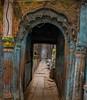 Archway in an Un-named Alley (shapeshift) Tags: entrance doorway doorways alleyways alleys dilapidated kashi banaras benares ornate archway arch alley davidpham davidphamsf shapeshift shapeshiftnet varanasi uttarpradesh india in