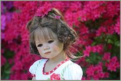 Milina ... unser kleines Nesthäkchen ... (Kindergartenkinder 2018) Tags: gruga grugapark essen azaleen kindergartenkinder milina annette himstedt dolls
