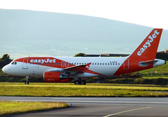 G-EZGA Airbus A319-111 (Bradley Newman) Tags: gezga airbusa319111 easyjet egns iom iomairport isleofman