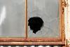 hole_1480578 (strange_hair) Tags: window hole tokyo japan street monzennakacho glass escape