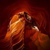 High Water (Bereno DMD) Tags: antelope antelopecanyon sand sandstone sandy az arizona page desert flood flash flashflood rock rocks canyon wall shape geometry flow longexposure longshutter cool warm pretty beautiful bucket bucketlist up vertical hdr dynamic range highdynamicrange nature wilderness