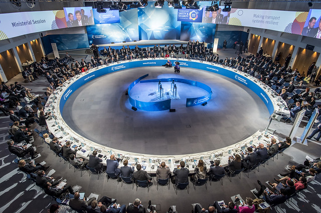 The Open Ministerial Session from above