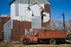 Truck and Grain Elevator - Tasco, KS (Christopher J May) Tags: truck htt throwbackthursday tasco kansas ks grainelevator rural agriculture nikond600 nikonafnikkor2485mmf3545vr