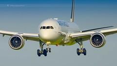 AIR FRANCE DREAMLINER B787-9 (lavierphilippephotographie) Tags: airfrance dreamliner b787 b7879 b789 boeing plane airplane aircraft airline airliner cdg roissy longhaul longcourrier