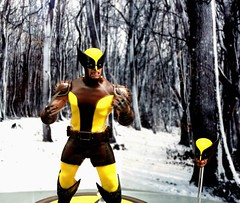 2017-Wolverine Action Figure-01 (David Cummings62) Tags: sandiego ca calif california comiccon con david dave cummings 2017 marvelcomics actionfigures wolverine movies movie animatedseries