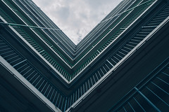 rectangular - Hongkong 151/188 (*Capture the Moment*) Tags: 2017 architecture architektur himmel hochhaus sky skyscraper sonya7m2 sonya7mii sonya7mark2 sonya7ii sonyfe1635mmf4zaoss sonyilce7m2 urban urbanliving