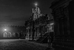@  Brihadeeswarar Temple,Thanjavur | 2017. (Vijayaraj PS) Tags: architecture chola india asia tamilnadu unesco worldheritagesite culture choladynasty incredibleindia tamil outdoor light people cholaarchitecture brihadeeswarar temple faith sunlight nandi road night monochrome blackandwhite