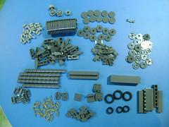 Lego parts haul March 30 2018 (TekBrick) Tags: custom lego parts bricks dark grey gray tires moc ww2 war