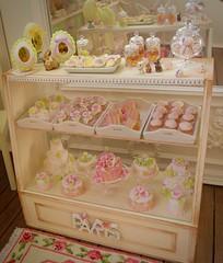Pretty 6th Scale Cabinet (Big Red Angel) Tags: barbie size blythe rementeastereggs 16scaleeasterbasket 16scalecabinet ericafusero betsyniederer cosmiadoll toletolecustom ihavewingsatelier kikikalb parisminiatures foileasterbunnies pinkeaster easterbunny pinkcute