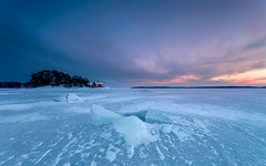 On the ice (Mika Laitinen) Tags: balticsea canon5dmarkiv europe finland helsinki kallahdenniemi kallvik scandinavia vuosaari cloud cold ice landscape longexposure nature outdoors sea sky snow sunset winter uusimaa fi
