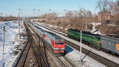 ТЭП 70БС-312 и 2ТЭ10М-2843 by Pavel888 -