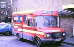 Slide 117-80 (Steve Guess) Tags: southampton hants hampshire england gb uk bus hampshirebus pilgrim coaches ford transit