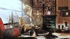 Treasured pieces (Alexa Maravilla/Spunknbrains) Tags: concept} kustom9 granola bloom dahlia decocrate hive sarisari secondlife sl architecture furniture decor home living space blogger indoors