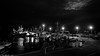 First Light, Brixham. (Neil. Moralee) Tags: brixhamnightneilmoralee neilmoralee brixham first light harbour harbor fishing boat ship port starboard fleet uk devon dark night lights empty clouds sky neil moralee nikon d7200 black white mono monochrome blackandwhite bw bandw sea water ocean england britain sailor fisheman outdoor dawn