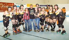112 (Bawdy Czech) Tags: lcrd lava city roller dolls spit fires basin bombers bend oregon or skate wftda flat track april 2018 bout