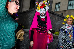 EasterParade2018(NYC) (bigbuddy1988) Tags: easter people portrait photography red flash strobe sb600 nikon d7000 nyc usa art new city manhattan newyork easterparade2018 wide wideangle tokina