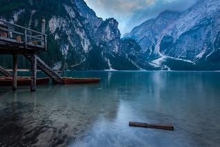 Docks of lago di braies