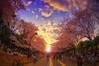 花見 (/\ltus) Tags: historyredux japan hanami komazawa komazawapark tokyo pentax k20d 日本 花見 駒沢 駒沢公園 東京 hdr 日本hdr japanhdr cherryblossom sakura 桜