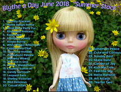 "Blythe a Day June 2018 - ""Summer Stock"" • <a style=""font-size:0.8em;"" href=""http://www.flickr.com/photos/103999507@N08/27413552197/"" target=""_blank"">View on Flickr</a>"