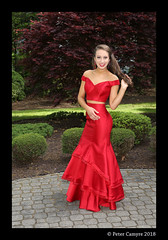 Katie (Peter Camyre) Tags: prom gown dress peter camyre photography portrait canon 5d mkiii beauty beautiful lady girl high school outdoors red dressy pretty hair eyes face smile happy happier may 18 2018