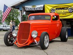 Ford Coupe Hot Rod (J Wells S) Tags: ford 3windowfordcoupe fordcoupe streetrod hotrod magwheels cincystreetrodscarshowandswapmeet butlercountyfairgrounds hamilton ohio oldschool