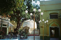 (homesickATLien) Tags: 35mm film art kodak analog mjuiii olympus expired travel asia myanmar burma backpacking backpacker expression movement monastery spirituality religion buddhism