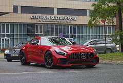 Mercedes-AMG GT R (VoytasEvo) Tags: mercedes mercedesbenz mercedesamg gtr amggt poland polska warszawa supercar coupe cars car red devil technology