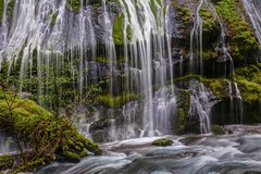 Panther Creek Falls Details (Cole Chase Photography) Tags: waterfall panthercreekfalls washington flow spring pacificnorthwest columbiarivergorge