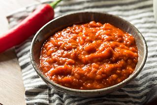 Homemade Spicy Harrisa Sauce
