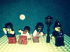 That Time of the Month (Gallisuchus (Clayface)) Tags: lego universal film classic horror movie monster minifigure wolfman lawrence larry talbot constable