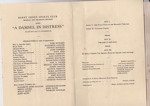 1932: Jan Programme 2