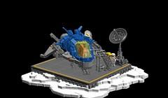 Landing Hornet 3 (hellvega) Tags: legospace ldd afol lego neoclassicspace
