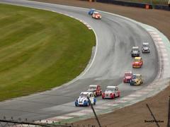 2CVs (BenGPhotos) Tags: 2018 barc citroen 2cv championship brands hatch race racing sports motorsport car cars classic french wet rain