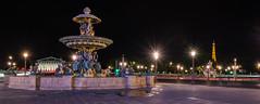 Place de la Concorde - Paris la nuit (valecomte20) Tags: paris bynight place de la concorde nuit nationale assemblée tour eiffeil nikon d5500 tower sky