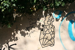 Abstract paste-up (Jürgo) Tags: paris parisstreetart streetart france urbanart streetartfrance publicart paste pasteup wheatpaste poster posterart