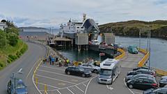 8 bells and all's well.. (Harleynik Rides Again.) Tags: outerhebrides tarbert mvhebrides calmac ferry isleofharris scotland harleynikridesagain nikondf