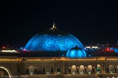 Emirates Palace (Darth Jipsu) Tags: colorfull uae palace unitedarabemirates hotel architecture emiratespalace emirates dome arabian