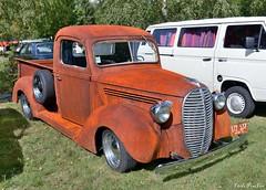 1939 Ford Barrel Nose Pickup (pontfire) Tags: 1939 ford pickup barrel nose auto moto rétro rouen 2017 pick up