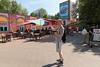 Psyké Underground @ Walibi Belgium (Belgium) (Meteorry) Tags: europe belgium belgië belgique wallonne wallonie brabantwallonne wavre limal bierges wallaby wallonië waalsbrabant compagnydesalpes premierparcs sixflags grevincie themepark park parc parcd'attractions june 2017 meteorry psyckéunderground rollercoaster montagnerusse gerstlauer antonschwarzkopf launchedindoorshuttlecoaster indoor shuttle buidling orange people andyram guy male boy homme summer été shorts sneakers
