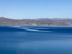 Azul (sekuas43) Tags: hermoso mountain argentina verano ruta montaña cielo lago sol