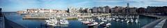 2014-10-19_17-53-40 (LuJaHu) Tags: gijón muelle panorámica gijon asturias españa spain barcos mar