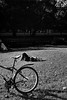(Einar Hilding) Tags: 400tx bw xtol leica trix blackandwhite bike m4p kodak park film