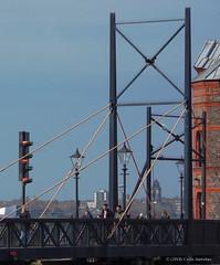 3KB03783a_C (Kernowfile) Tags: liverpool canningdock dock sky lock gate signal