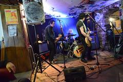 DSC_0068 (richardclarkephotos) Tags: tim bish joey luca © richard clarke photos derellas three horseshoes bradford avon wiltshire uk lone sharks guitar bass drums guitarist drummer bassist band bands live music punk