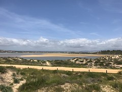 View from Boardwalk - Alvor, Algarve, Portugal - April 2018 (firehouse.ie) Tags: shoreline shore seaside sea ocean boardwalk beaches beach bay atlanticocean atlantic algarve alvor