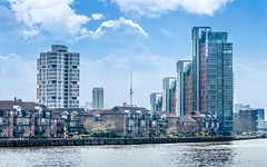 Living By The River (DobingDesign) Tags: architecture flats apartments old new fashionable socialhousing resi residential riverthames battersea chelsea river dwellings types